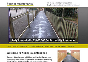 Keanes Maintenance are Surrey County Council approved and Marshall's registered contractors specialising in permeable block paving, driveways and tarmacadam groundworks for commercial and residential clients