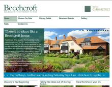 Beechcroft, Weybridge Website Design client