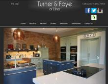 Turner and Foye, Weybridge Website Design client